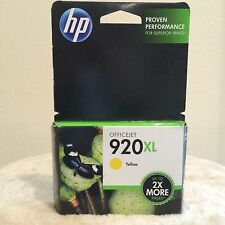 HP Office Jet #920XL Ink Cartridge CD974AN - Yellow - GENUINE - NEW - SEALED