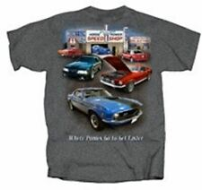 Mustang Speed Shop T-Shirt - Classic & Fox Body Ford Mustangs on This Cool Shirt