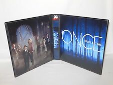 Custom Made Once Upon A Time Trading Card Album Binder Graphics Only