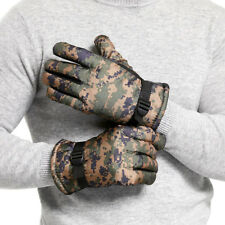 Thickening Camouflage Gloves Windproof Warm Tactical Army Hunting Gloves New