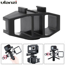 Ulanzi Vlogging Bracket with 2 Cold Shoe Tripod Mount Supports Mic GoPro Adapter