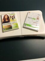 Nintendo Wii Fit Bundle Balance Board, Wii Fit, Julian Michaels, Tested