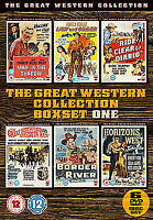 The Great Western Collection - Volume 1 (6 Films) DVD NEW DVD (101FILMSBOX06)