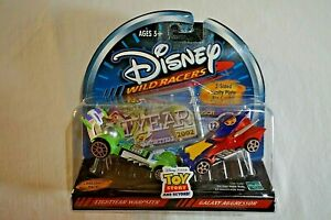 Disney Wild Racers Toy Story And Beyond Lightyear Warpster & Galaxy Aggressor