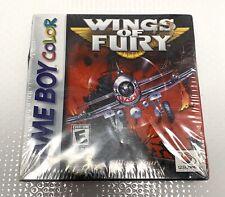 Wings of Fury (Nintendo Game Boy Color, 1999) Sealed DAMAGED BOX