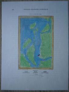 1894 Perron map BELEM, PARA, BRAZIL (#40)