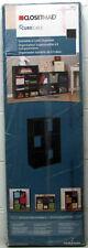 ClosetMaid Six Cube Cabinet Organizer Stackable 78815 Espresso 24 X 35 X 11