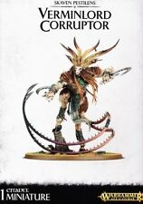 Skaven Pestilens Verminlord curruptor Games Workshop Warhammer Edad of sigmar