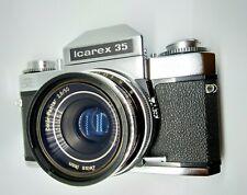 Zeiss Ikon Icarex 35mm SLR Film Camera with Lens near MINT