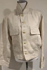 New listing Matsuda Men's Eisenhower Jacket , Cream, Medium
