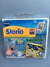 Vtech Storio SpongeBob Bob Esponja Modelo Spanish Learning Game - Juego Español