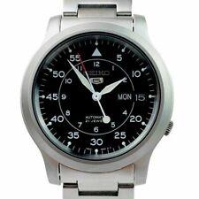 Seiko 5 SNK809K1 Carcasa y Correa de Acero Inoxidable en Plata Reloj para Hombre