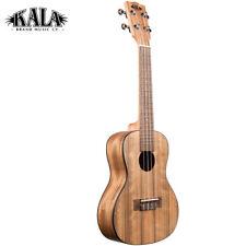 Kala KA-PWC Pacific Walnut Series Concert Ukulele with Aquila Strings Brown