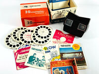 Vintage Lot Viewmaster w/ Box slides