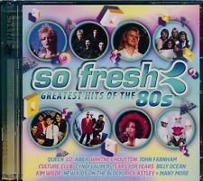 So Fresh Greatest Hits Of The 80's 2-disc CD NEW Quen U2 Farnham Kim Wilde