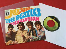 "The Beatles  HEY JUDE / REVOLUTION  7"" Single EMI Odeon O 23880 Germany"