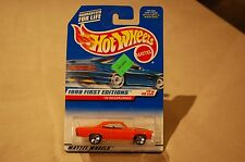 Hot Wheels - 70' Roadrunner Collector #661 - 1998 First Editions 1:64 Red