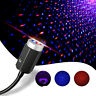 Portable 3 Colors USB LED Car Atmosphere Light Star Night Lamp 7 Lighting Decor