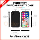 For Apple iPhone X Case Slim Lightweight Hard Plastic Protective Cover
