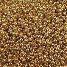 11/0 Miyuki Duracoat Galvanized Gold # 4202 23.5 g
