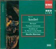 Maurice Andre' - Baroque Trumpet Concertos Neville Marriner Emi Classics Cd Mint