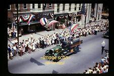 1947 Fire Truck at Waynesboro, Pennsylvania, Orig. Kodachrome Slide c1a