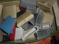 Vintage Box of HO scale Trestle piers etc.box full