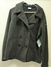 WOMENS COLUMBIA Benton Springs Pea Coat- XL-Charcoal-NWT-MSRP $ 90