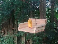 Cedar Porch Swing Outdoor corncob Squirrel Feeder