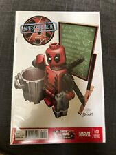 SECRET AVENGERS #10  LEGO CASTELLANI VARIANT COVER DEADPOOL COMIC BOOK NEW