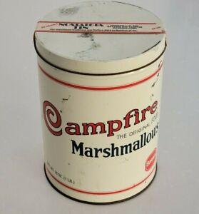 Vintage Borden Campfire Marshmallows Collectors Tin (1920's Replica)