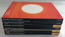 PhotoDisc Resource Books 1-6 with Comping Discs, Includes 60 Hi-Res Images Euc