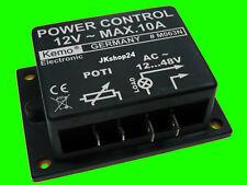 NEU! Leistungs-Regler MOTOR- + LAMPEN-DIMMER 12 - 48 V/AC 10A Leistungsregler