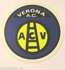ADESIVO ORIGINALE anni '80 _ A.C. VERONA Calcio (cm 9) Old Sticker Vintage