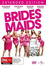 BRIDES MAIDS (DVD, 2011)EXTENDED EDITION =PAL 4 = SEALED =FREE POST