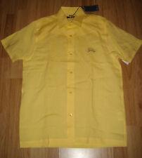 HOPE & GLORY LEMON CASUAL SHIRT RP£45 S New yellow happy