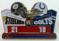 Pittsburgh Steelers LE 2005 Divisional Playoff Pin vs Indianapolis Colts