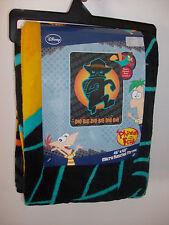 Perry the Platypus Phineas & Ferb Micro Raschel Fleece Throw Blaket Doo Bee Doo