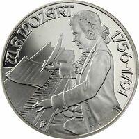 Österreich 100 Schilling 1991 Mozart in Wien Silbermünze Polierte Platte
