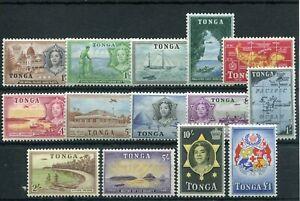 TONGA 1953 TO £1 ARMS SG101/14 NEVER HINGED