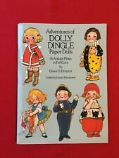 Dolly Dingle paper doll book, uncut