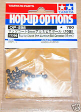 Tamiya 53598 Fluorine Coated 5mm Aluminum Ball Connector (10 Pcs.) (Fox/Hotshot)