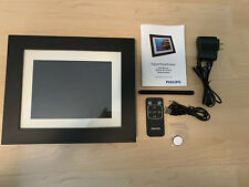 """Philips 8"""" Digital Picture Photo Frame - SPF3483/G7 Pre owned- WORKS GREAT!!"""