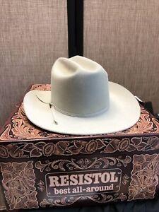 resistol cowboy hat 7, 4X beaver