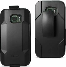 Reiko Samsung Galaxy S7 Active 3-In-1 Hybrid Heavy Duty Holster Combo Case In Bl