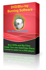 DVD/CD/Bluray Burner Burning Copy Create Backup Clone Edit Ripper Software Suite