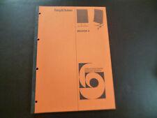 Original Service Manual Schaltplan Bang&Olufsen Beovox 4