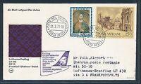 80690) Vatikan, Zul. zu  LH FF Frankfurt - Dhahran 4.4.77, SoU ausfall-o