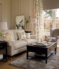 "Laura Ashley Hydrangea Camomile curtains yellow 64"" x 72"" floral 162 x 183cm NEW"