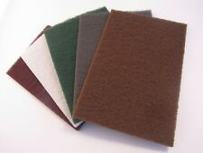 Scotchbrite / Webrax Hand Pads all grits 152 x 229mm